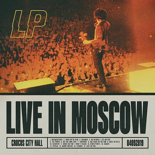 LP - Live In Moscow (Ita)