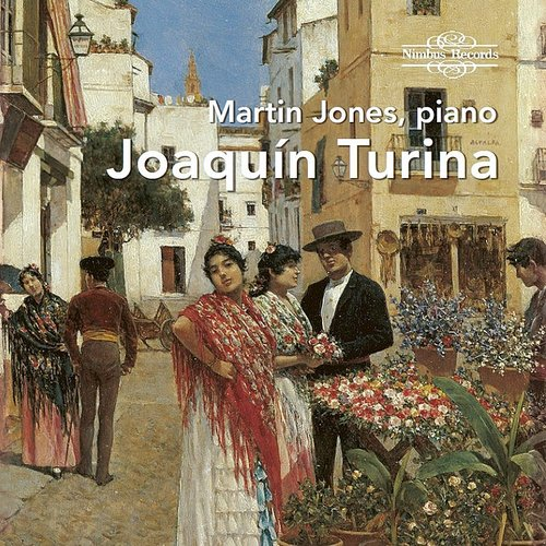 Martin Jones - Martin Jones Plays Turina (4pk)