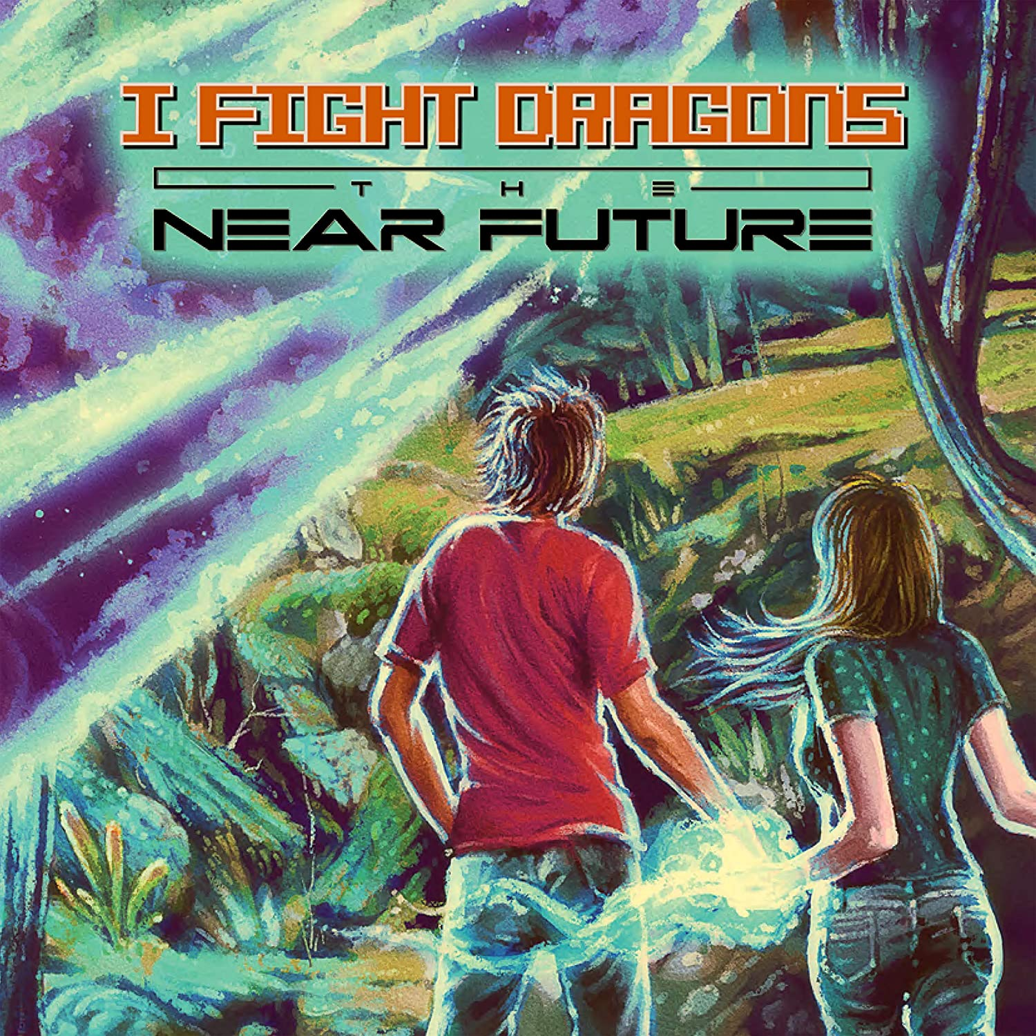 I Fight Dragons - The Near Future [Limited Edition Green & Blue Swirl LP]
