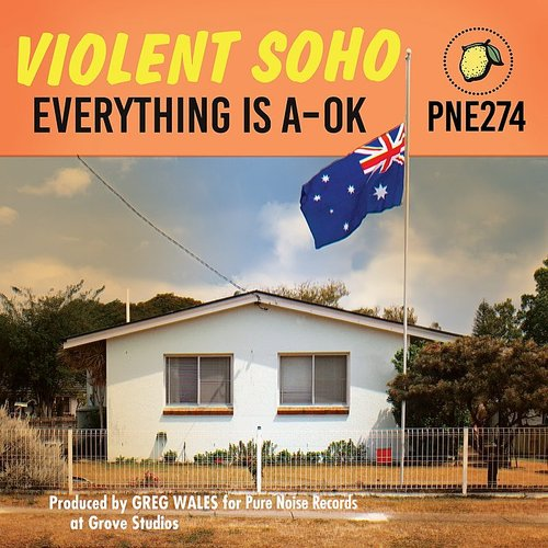 Violent Soho - Everything Is A-Ok [Colored Vinyl] (Aus)