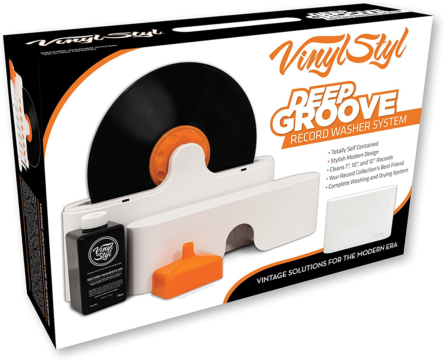 - Vinyl Styl Deep Groove Record Washer System