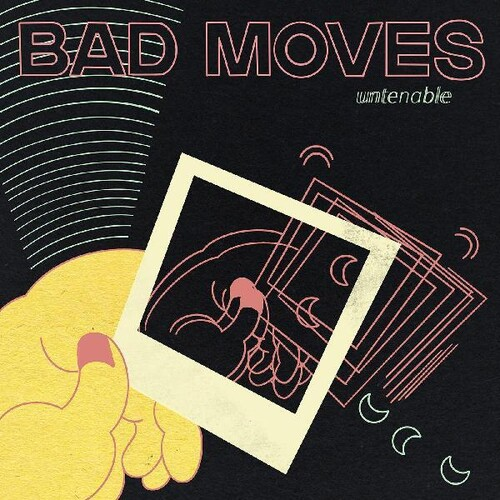 Bad Moves - Untenable [Limited Edition Mint Green Swirl LP]