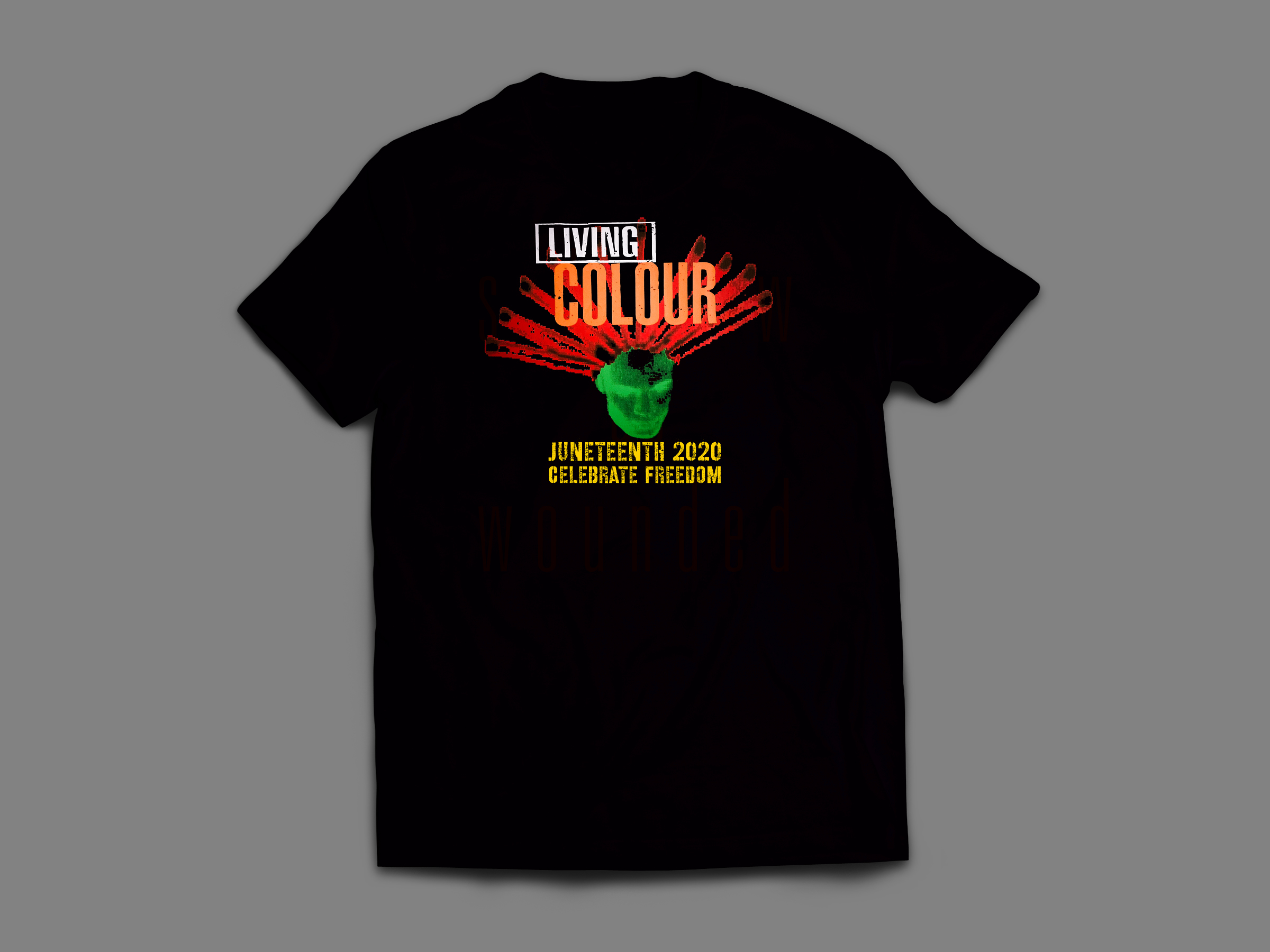 Living Colour Juneteenth T-shirt Pre-order