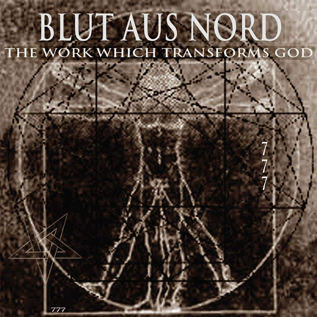 Blut Aus Nord - The Work Which Transforms God [Half Ultra Clear / Half Black LP]
