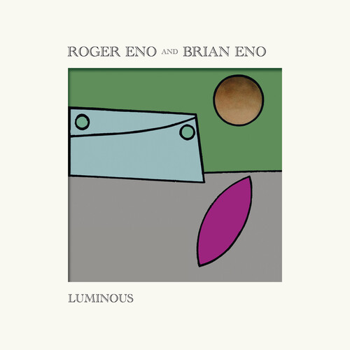Roger Eno and Brian Eno - Luminous [Indie Exclusive Limited Edition Yellow LP]