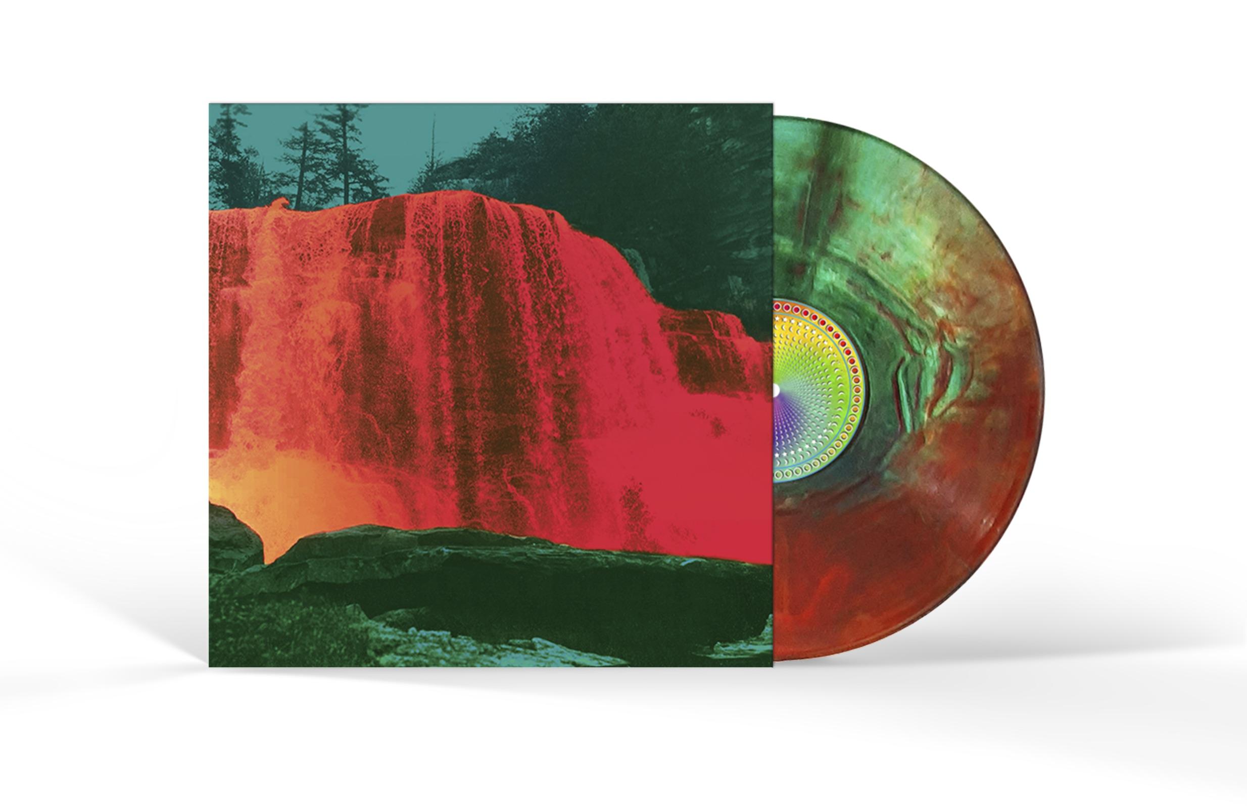 My Morning Jacket The Waterfall Ii Limited Edition Deluxe Orange Green Splash Lp Craft Vinyl Youbelonghere