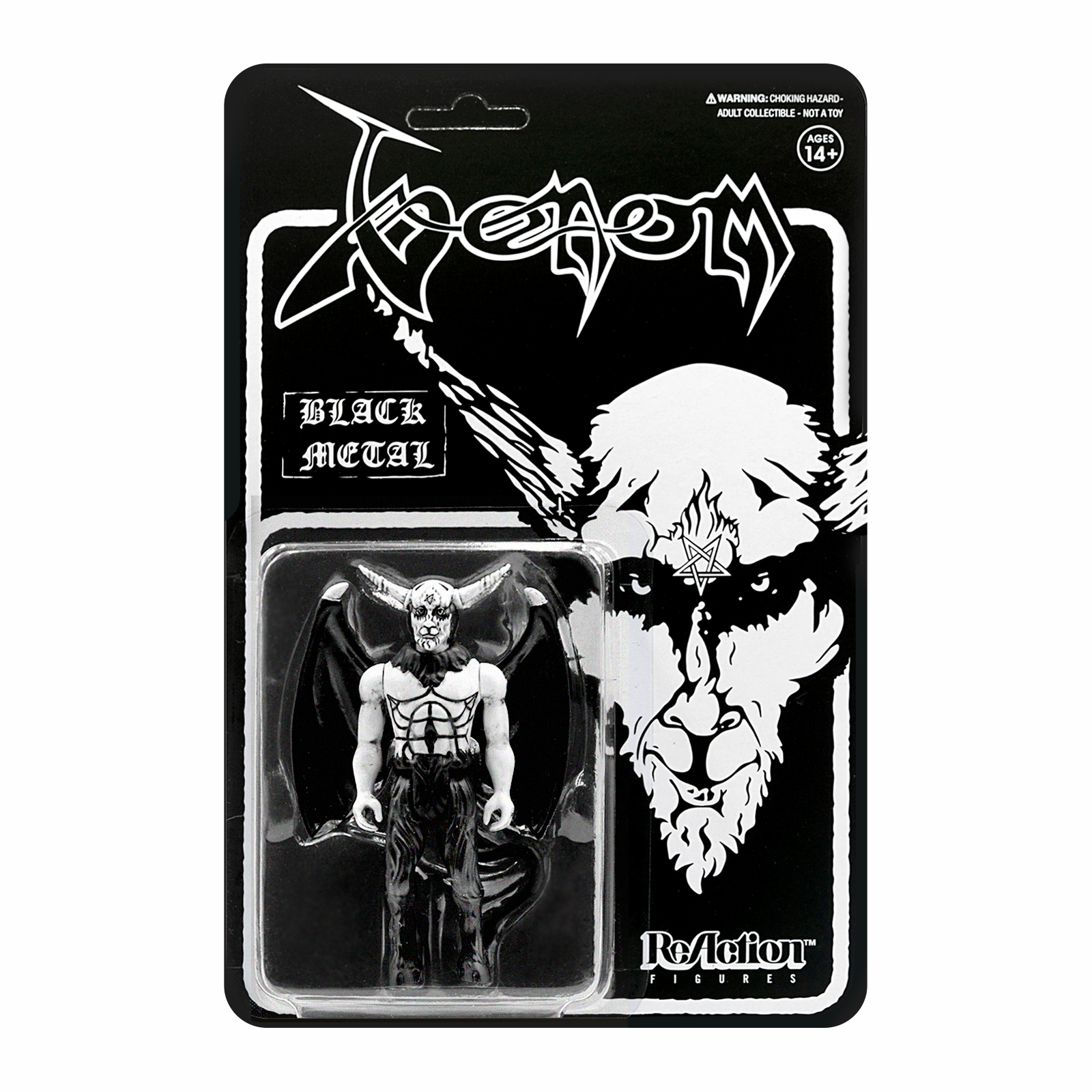 Venom - VENOM BLACK METAL ACTION FIGURE