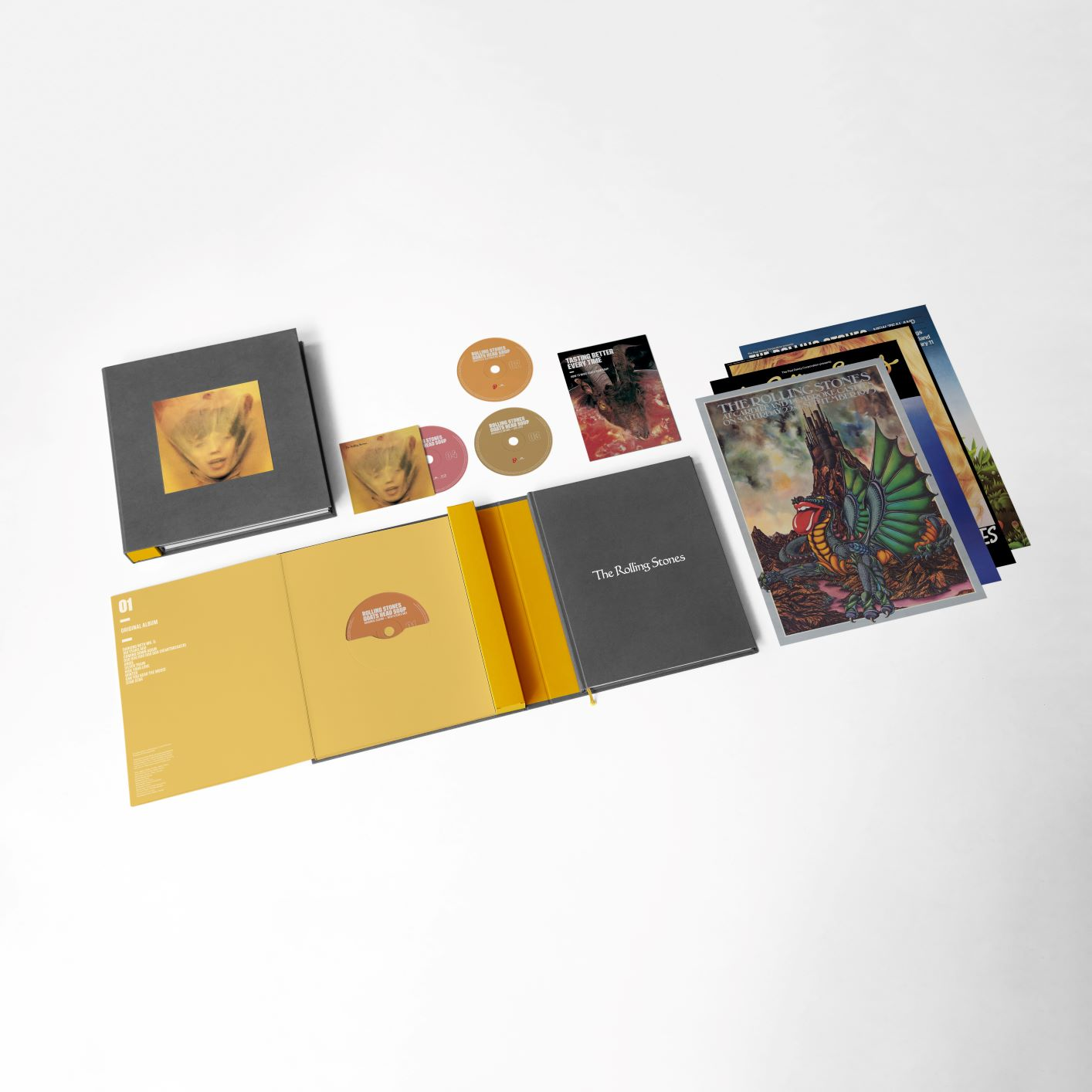 3CD/Blu-Ray Super Deluxe Box Set