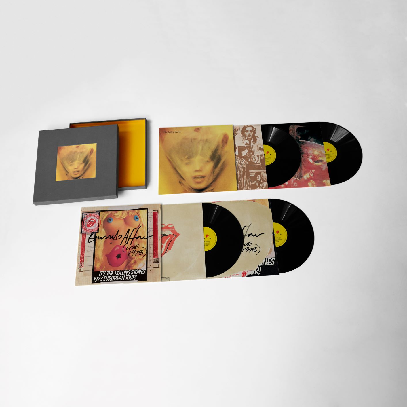 4LP Super Deluxe Box Set