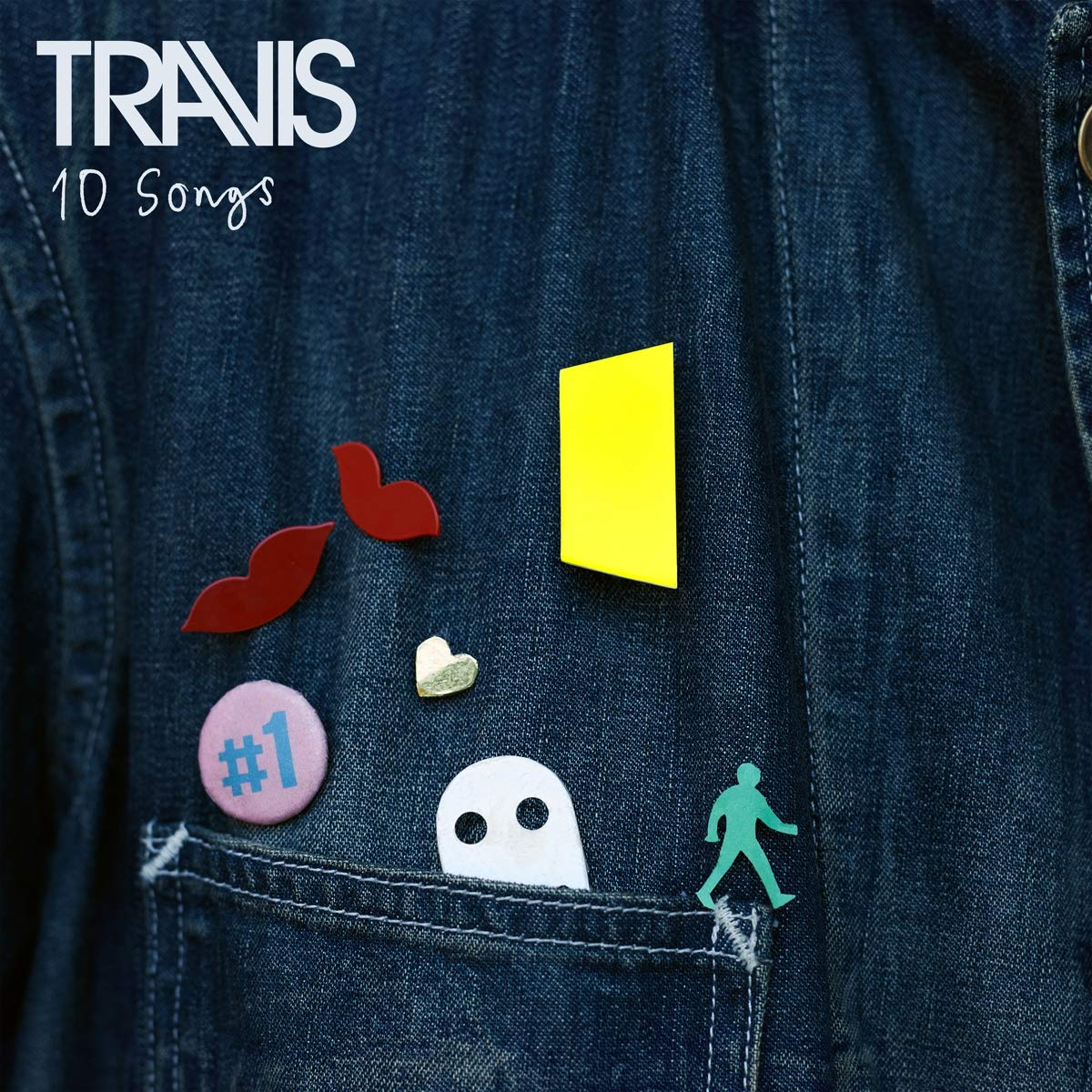 Travis - 10 Songs [Indie Exclusive Limited Edition Deluxe Red & Blue 2LP]