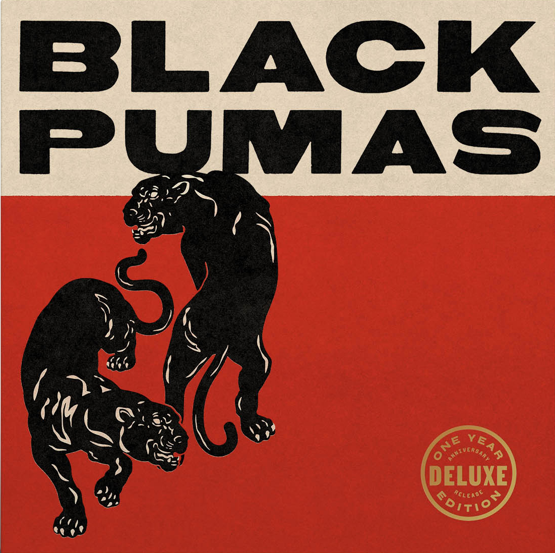 Black Pumas: Deluxe Edition [Gold/Black & Red Splatter 2LP+7in]