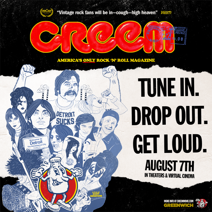 Creem Magazine Documentary Screening - August 7th