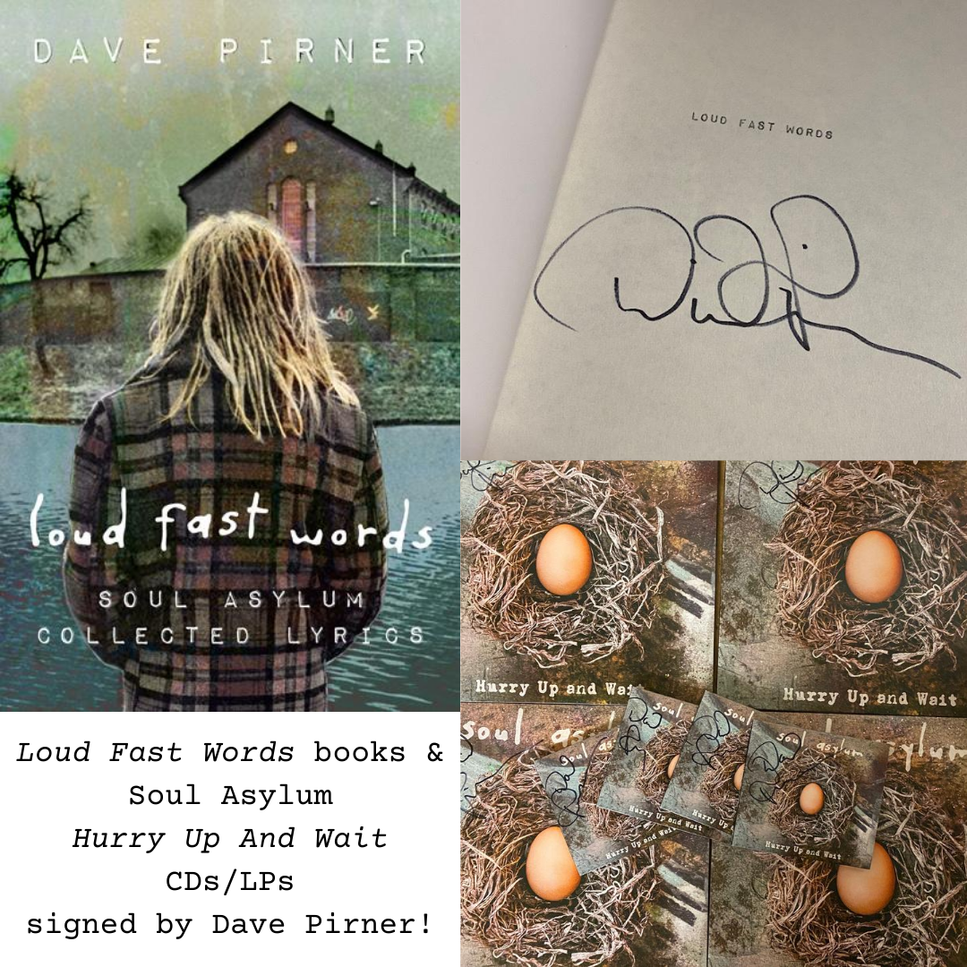 Books and Music signed by Dave Pirner!