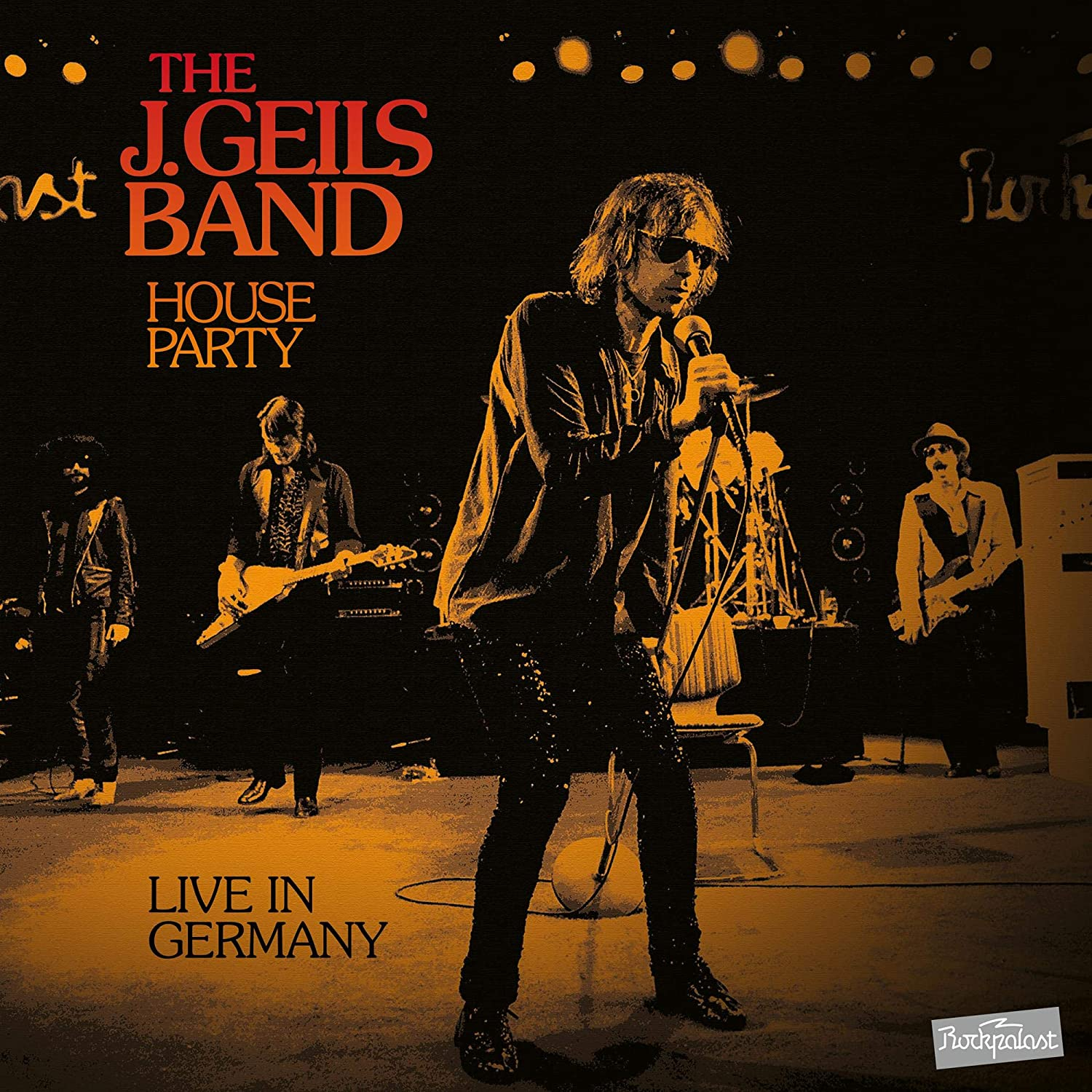 J. Geils Band - House Party Live In Germany [Limited Edition Orange 2LP]