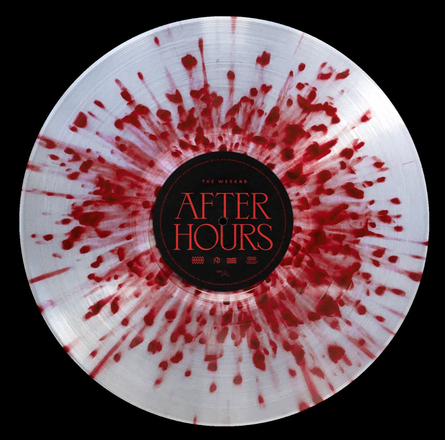 Clear w/ Red Splatter 2LP]