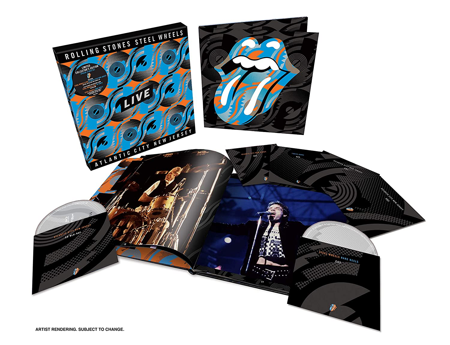 3CD/2DVD/Blu-ray Deluxe Edition