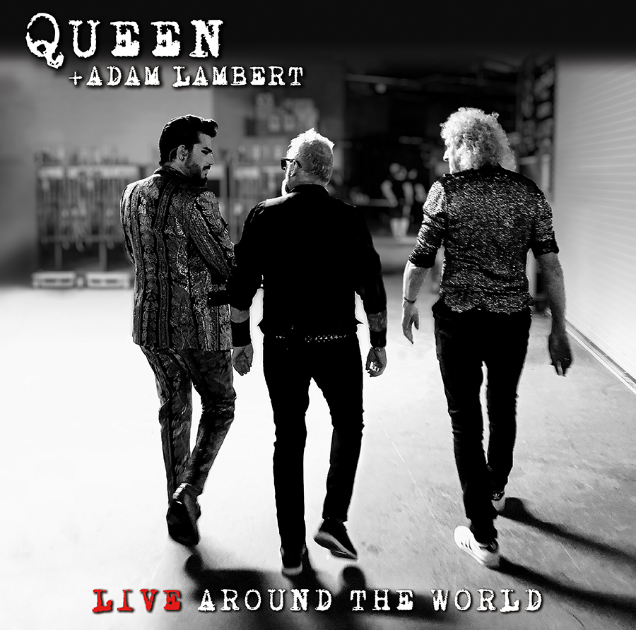 Queen + Adam Lambert - Live Around The World [Indie Exclusive Limited Edition Red 2LP]