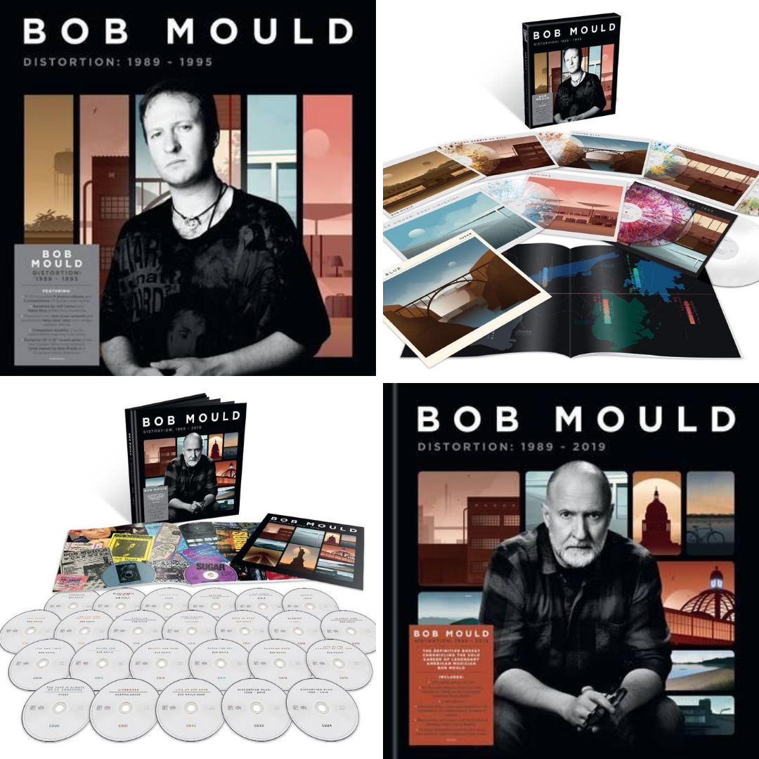 Bob Mould - Distortion box sets out Oct. 2nd