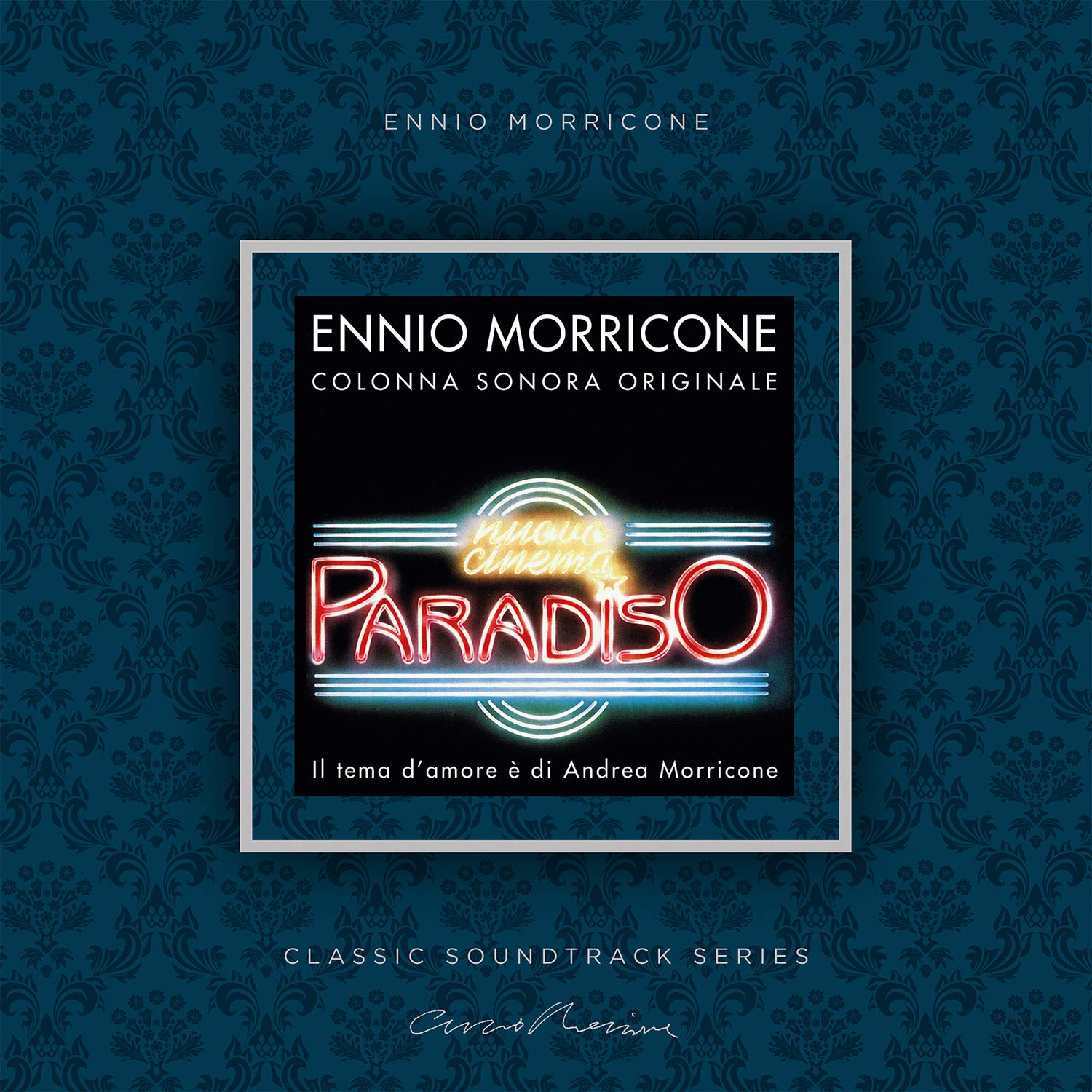 Ennio Morricone - Nuovo Cinema Paradiso (Original Motion Picture Soundtrack) [Limited Edition Transparent Pink LP]