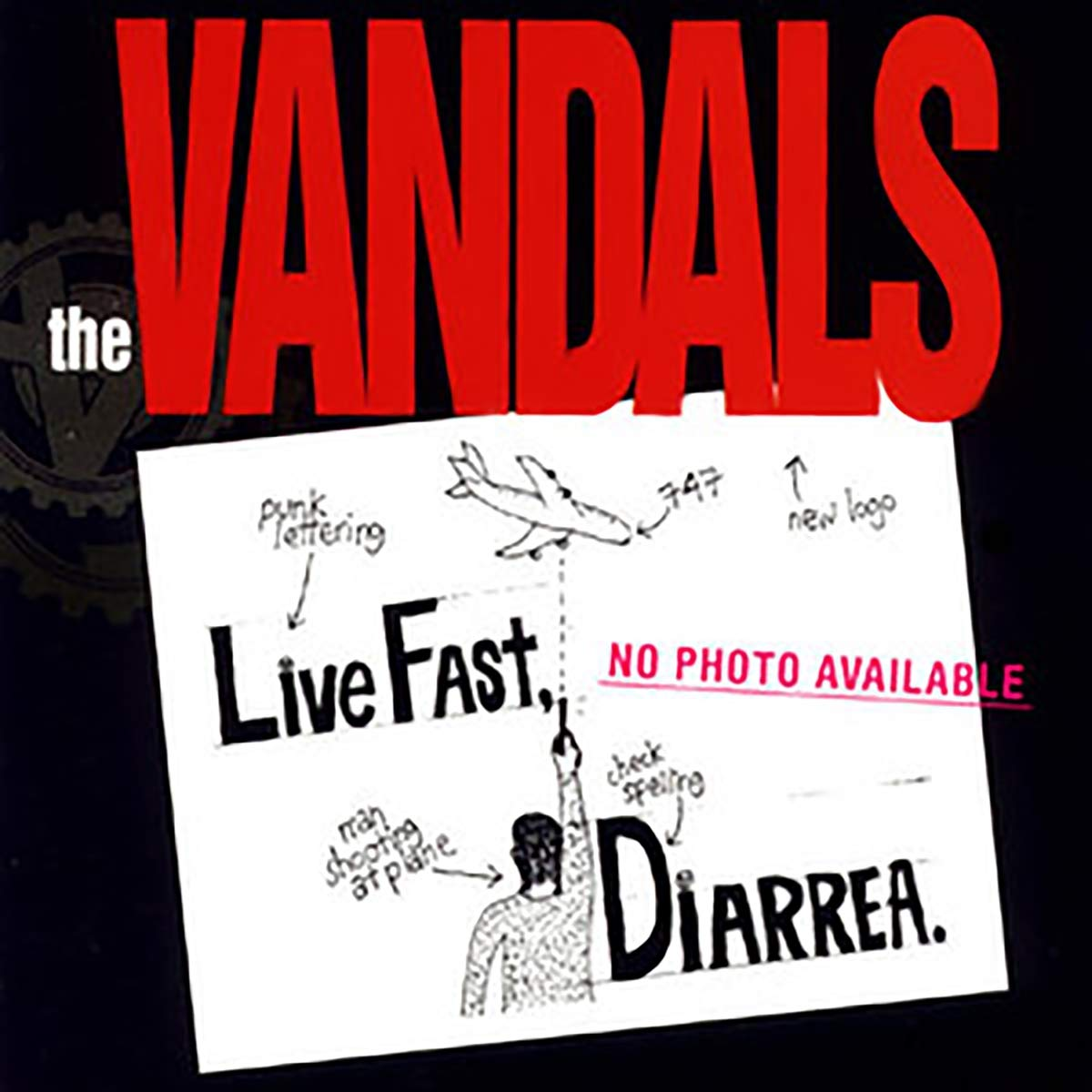 Vandals - Live Fast, Diarrhea: 25th Anniversary [Limited Edition Explosive Brown Splatter LP]