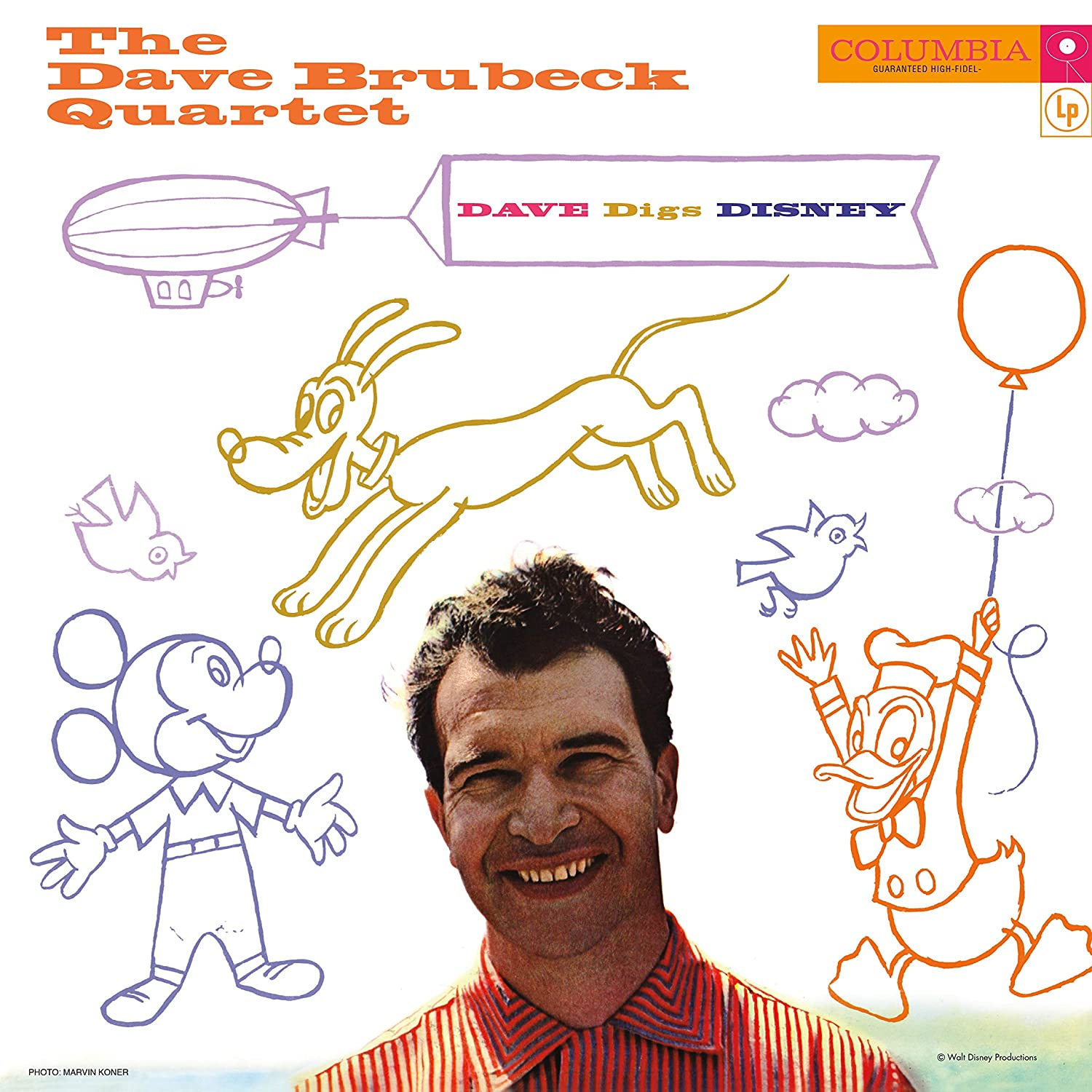 The Dave Brubeck Quartet - Dave Digs Disney [LP]