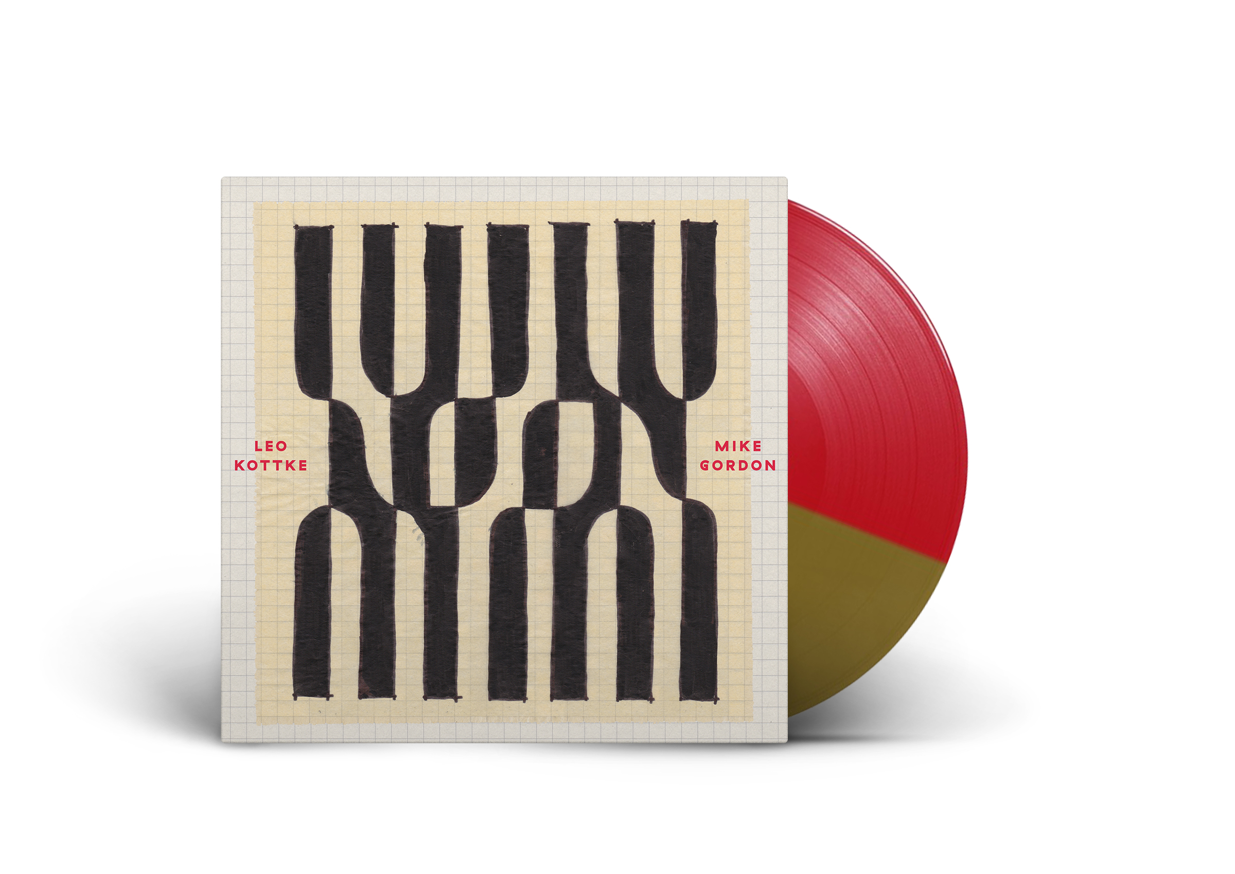 Gold/Red LP