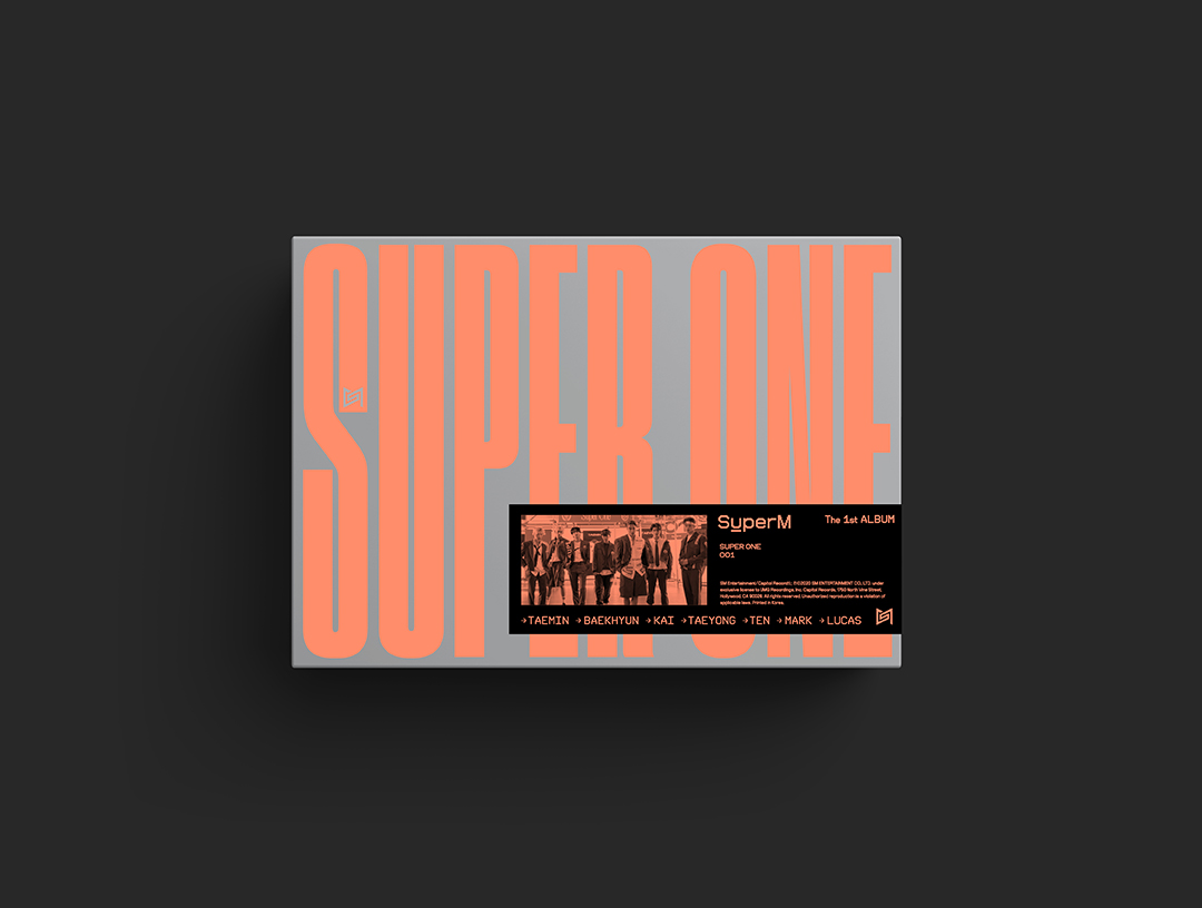 SuperM The 1st Album 'Super One' [Super Ver.]