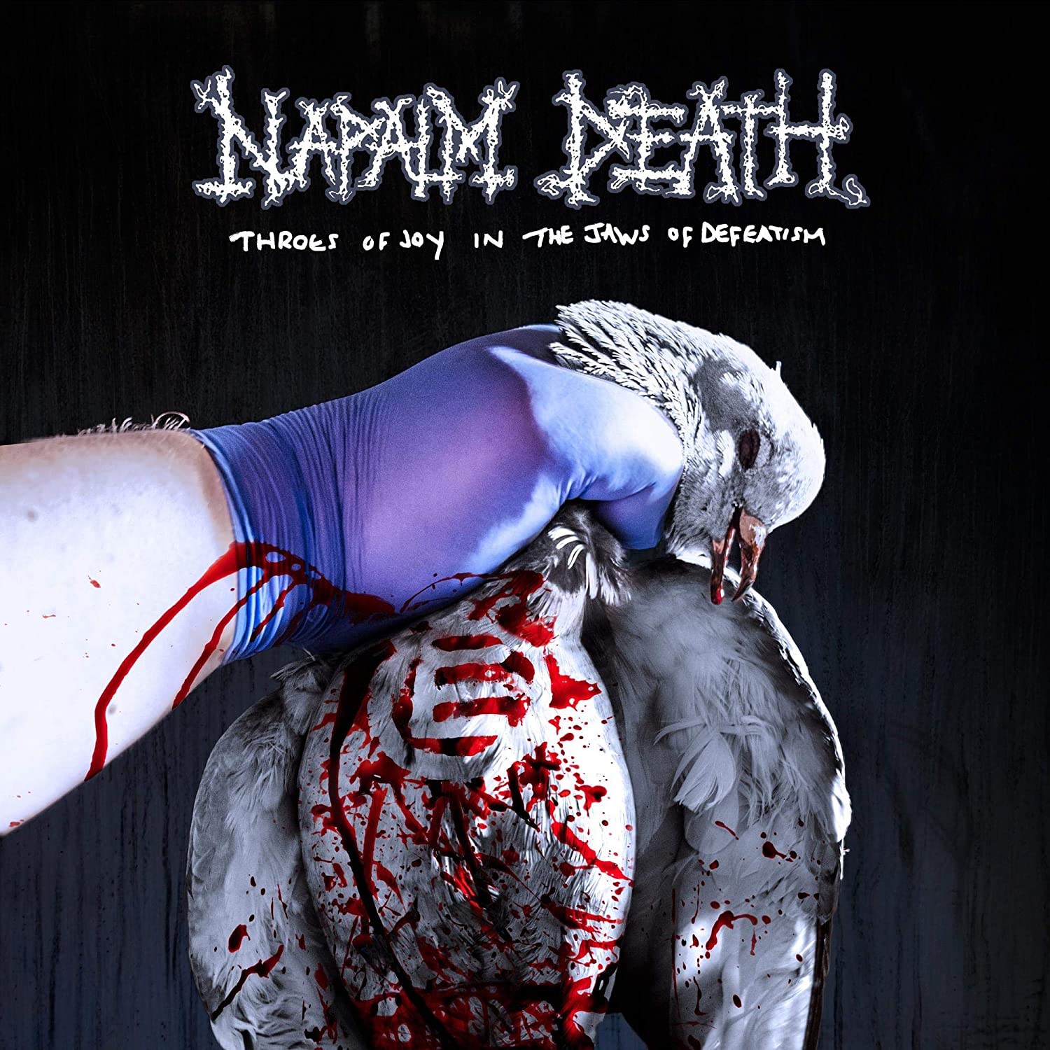 Napalm Death - Throes Of Joy In The Jaws Of Defeatism [Import Limited Edition Gold LP]