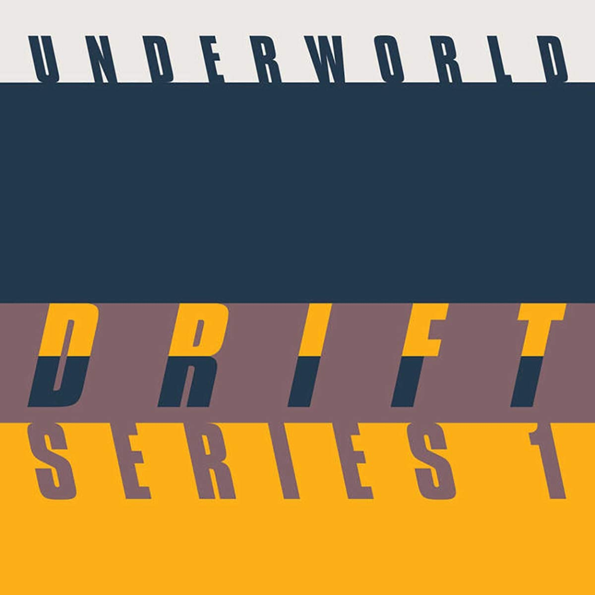Underworld - DRIFT SERIES 1 [8CD/Blu-ray Box Set]