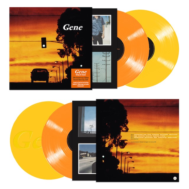 Gene - Rising For Sunset: 10th Anniversary Edition [Import Yellow & Orange 2LP]