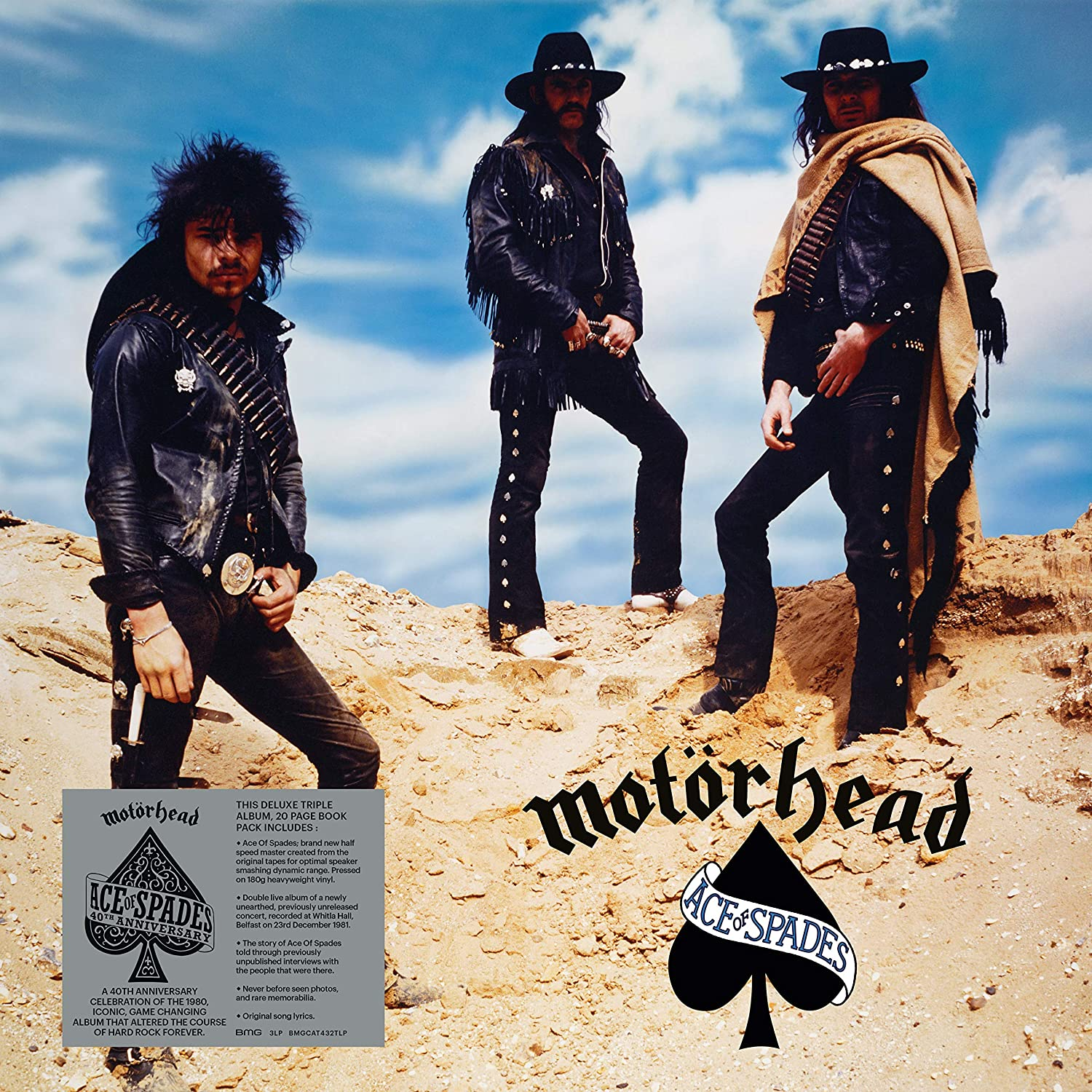 Ace Of Spades: 40th Anniversary Edition [3LP]
