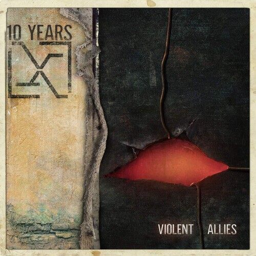 10 Years - Violent Allies [Limited Edition Clear LP]