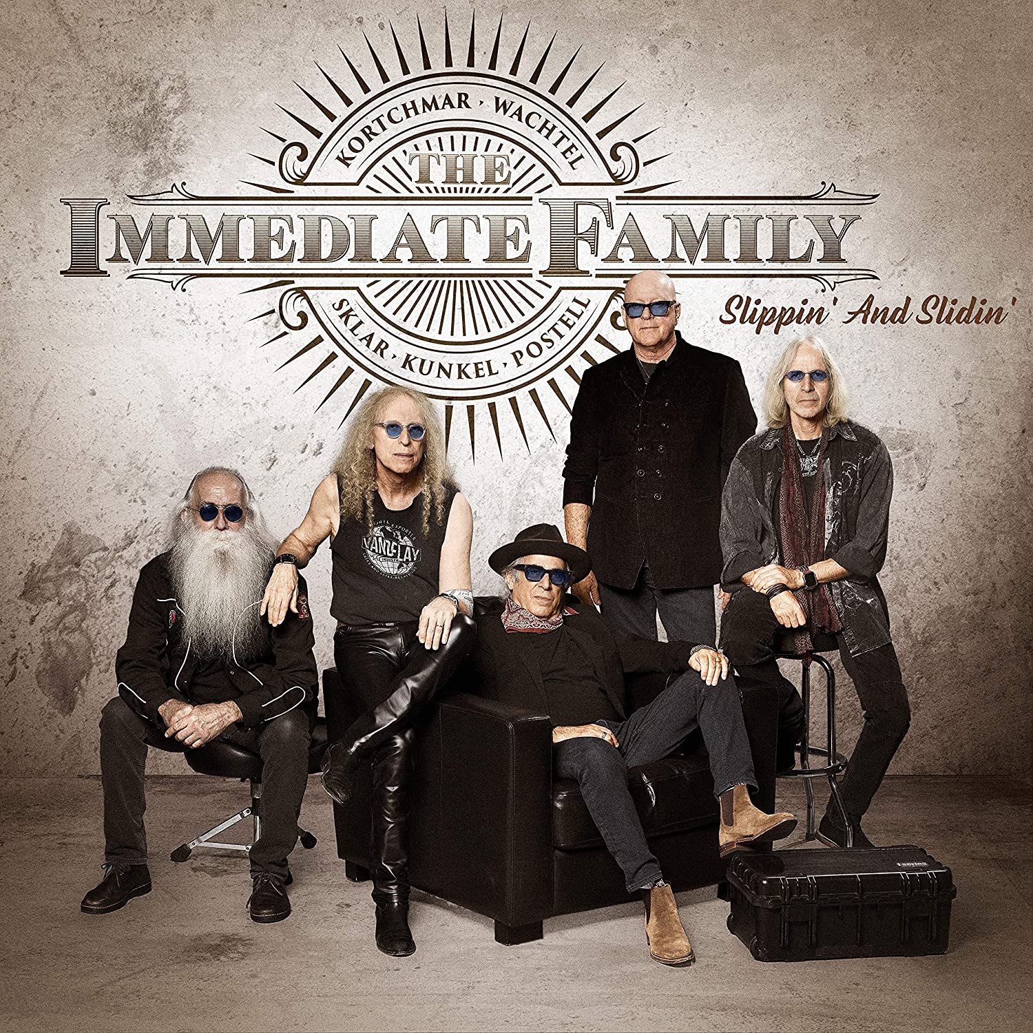 The Immediate Family - Slippin' And Slidin'