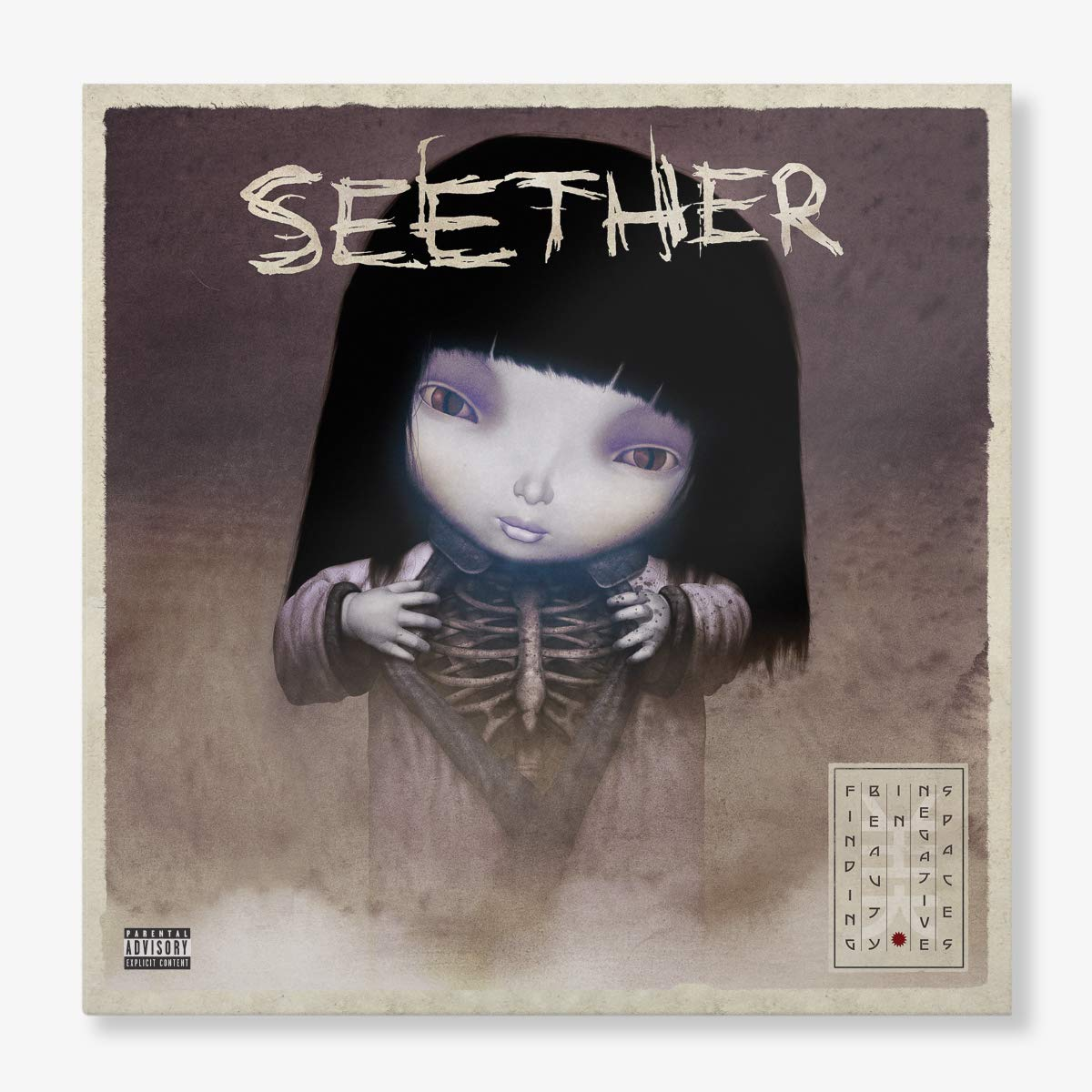 Seether - Finding Beauty In Negative Spaces [Opaque Lavender 2LP]