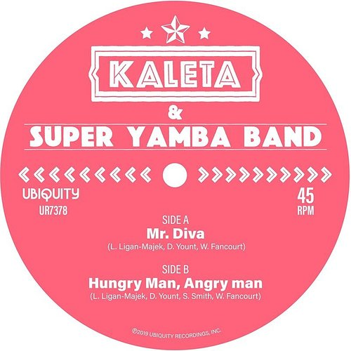 Kaleta - Mr. Diva B/W Hungry Man, Angry Man