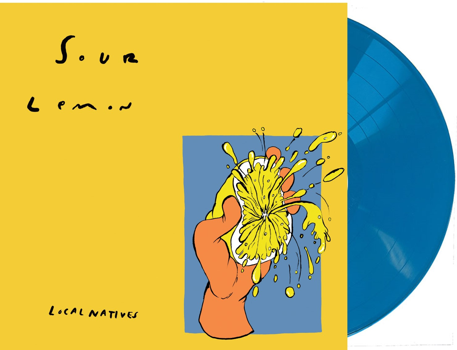 Local Natives - Sour Lemon EP [10in Turquoise Blue Vinyl]