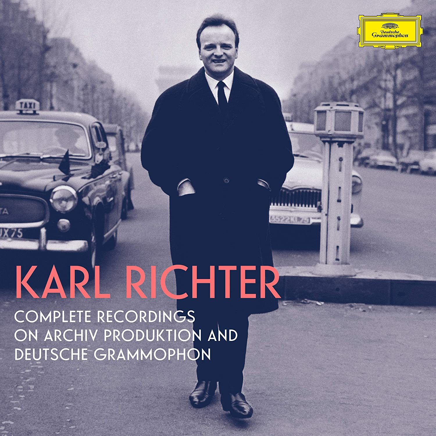 Karl Richter - Complete Recordings On Archiv Produktion And Deutsche Grammophon [97 CD / 3 Blu-ray Box Set]