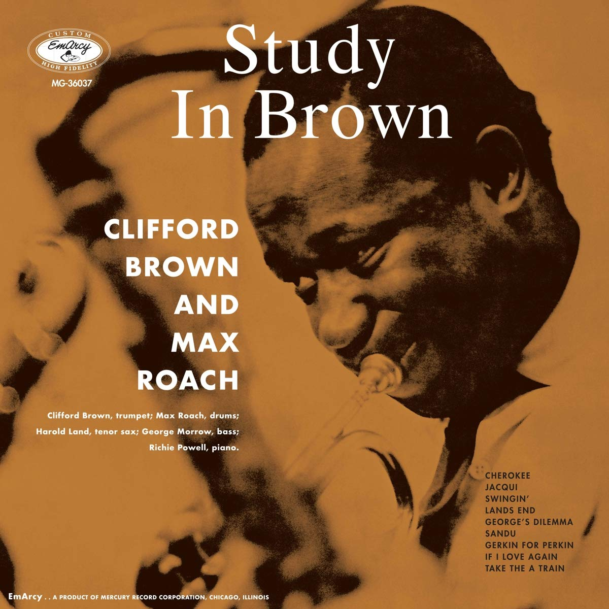 Clifford Brown & Max Roach - A Study In Brown (Verve Acoustic Sounds Series) [LP]