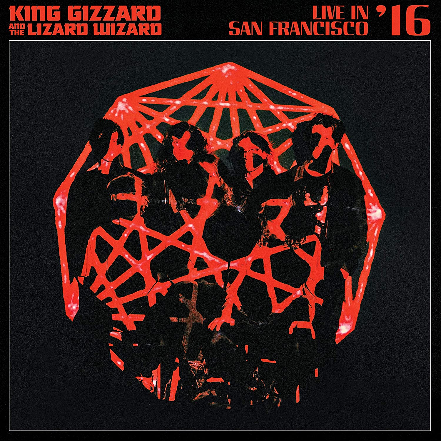 King Gizzard & The Lizard Wizard - Live In San Francisco '16 [Random Color 2LP]