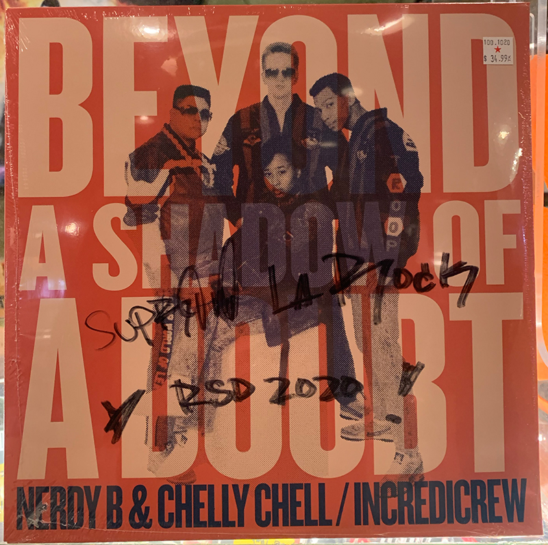 Nerdy B / Chelly Chell - Beyond A Shadow Of A Doubt (Ltd)