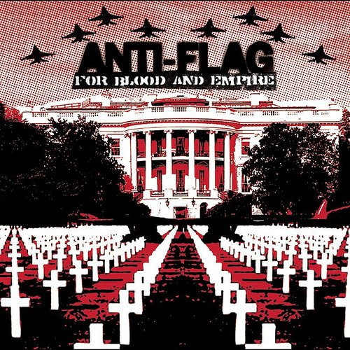 Anti-Flag - For Blood & Empire [Colored Vinyl] [Limited Edition] [180 Gram] (Wht) (Hol)