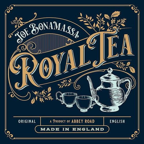 Joe Bonamassa - Royal Tea [Artbook With Gold Vinyl & Bonus CD] [Import]