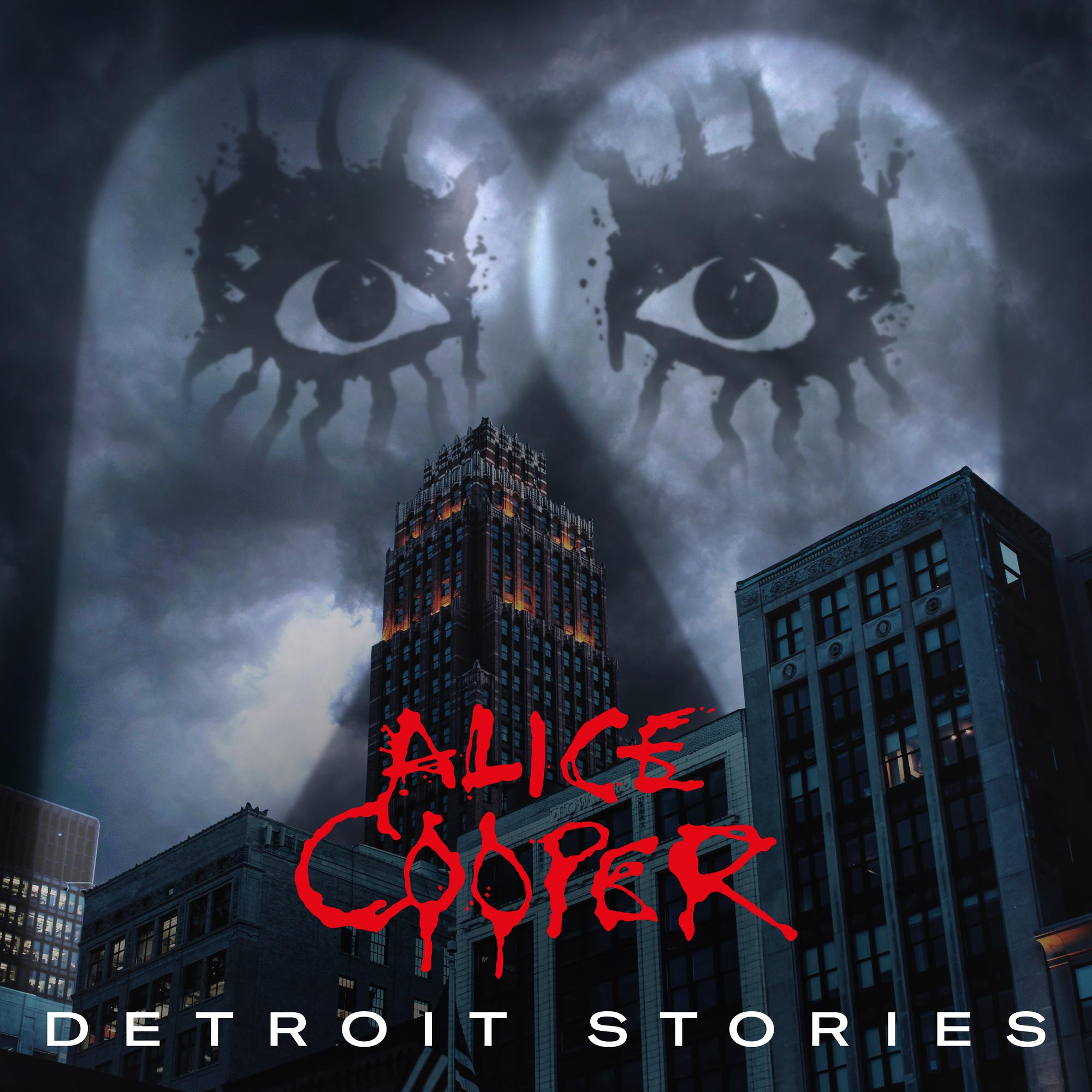 Alice Cooper - Detroit Stories [Indie Exclusive Limited Edition Red 2LP]