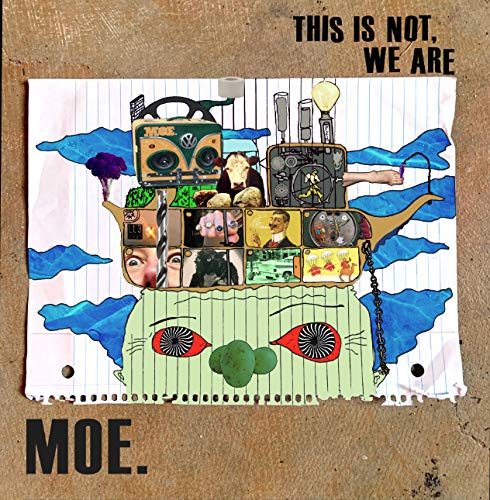 Moe. - This Is Not, We Are [Blue Galaxy LP]