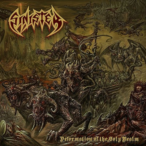 Sinister - Deformation Of The Holy Realm (Red) (Uk)