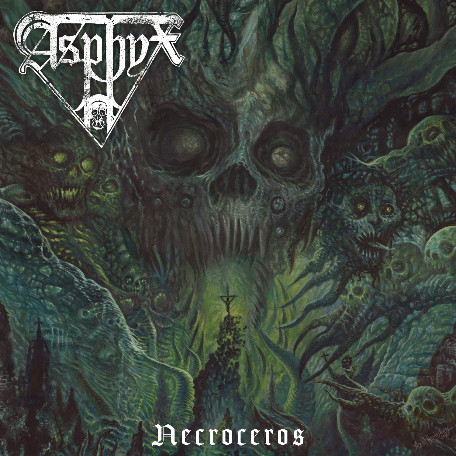 Asphyx - Necroceros [Import Limited Edition Dark Green LP]
