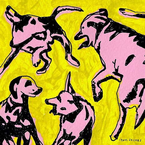Paul Jacobs - Pink Dogs On The Green Grass [Import]