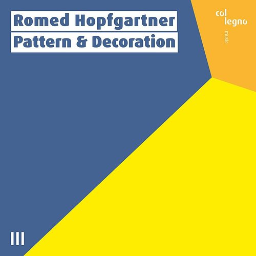 Romed Hopfgartner - Pattern & Decoration