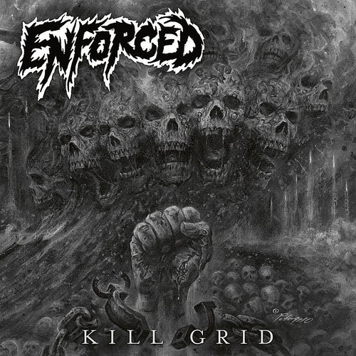 Enforced - Kill Grid (clear LP+CD) [Import]