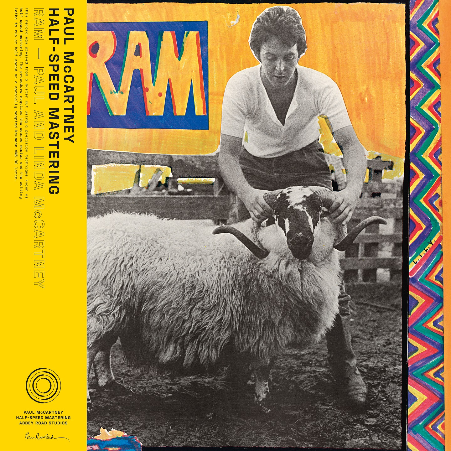 RAM [Indie Exclusive Limited Edition 50th Anniversary Half Speed Master LP]